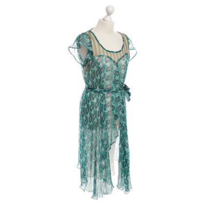 Antik Batik zijden jurk patroon
