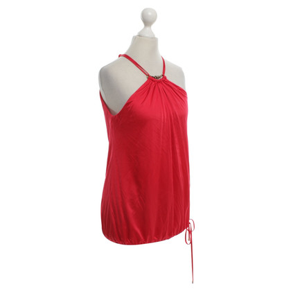 Roberto Cavalli top in red
