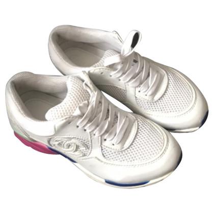 Chanel Scarpe da ginnastica in bianco