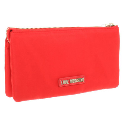Moschino Love Wallet in het rood