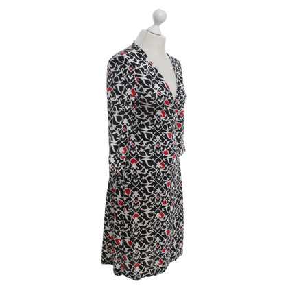 Diane von Furstenberg Wrap dress with pattern