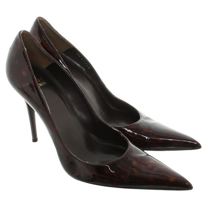 Stuart Weitzman pumps with pointed shoe shape