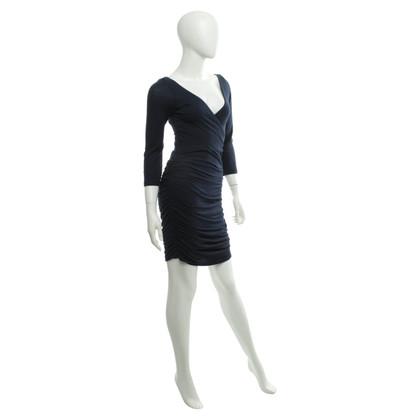 Velvet Vestito in blu scuro