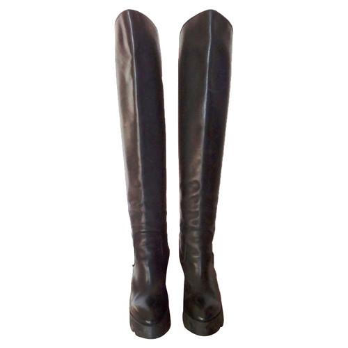cheap for discount dd089 fb823 Ash Stivali in Pelle in Nero - Second hand Ash Stivali in ...