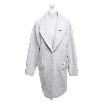 Drykorn Coat in mottled light gray