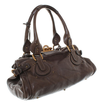 Chloé Leather handbag in brown