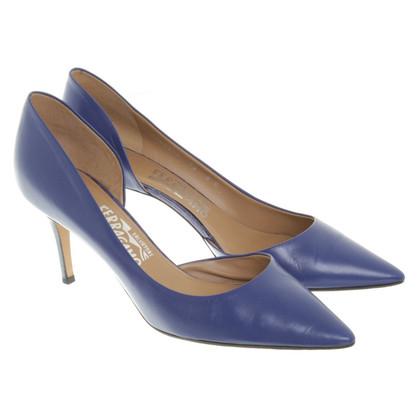 Salvatore Ferragamo pumps in blu