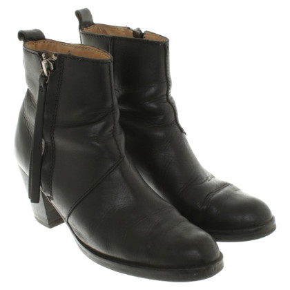 "Acne Ankle boots ""Pistol Short Black"""