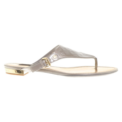 Louis Vuitton Silver colored sandals