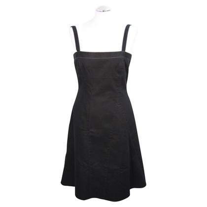 Tahari Strap vestito in nero