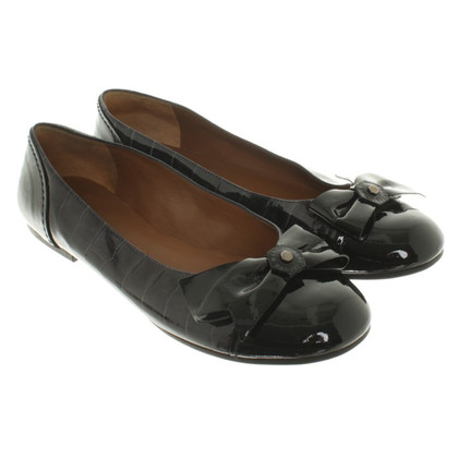 Marc by Marc Jacobs Patent leather ballerinas