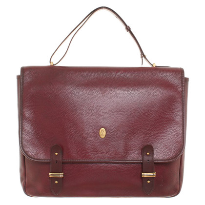 Cartier Briefcase in Bordeaux