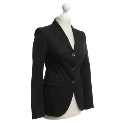Tagliatore Classic Blazer in Black