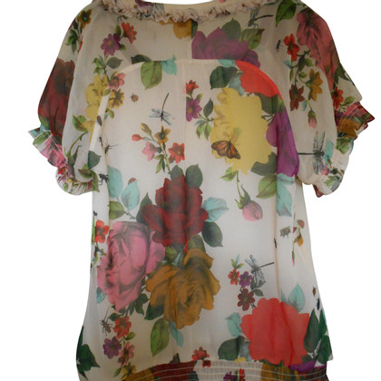 Ted Baker Top con ruches