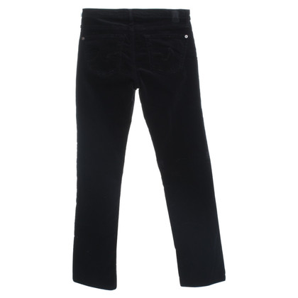 Adriano Goldschmied Cord Jeans in Black