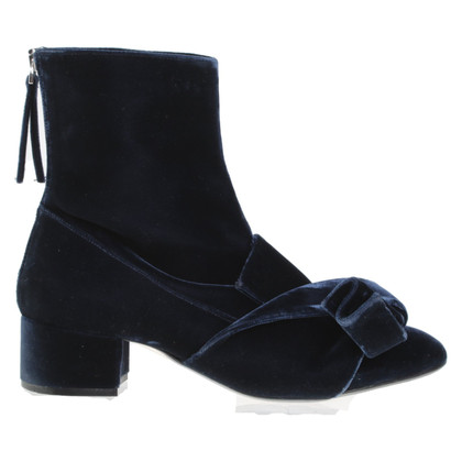 no. 21 Ankle boots in dark blue