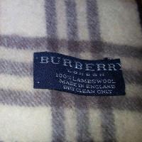Burberry sciarpa di lana
