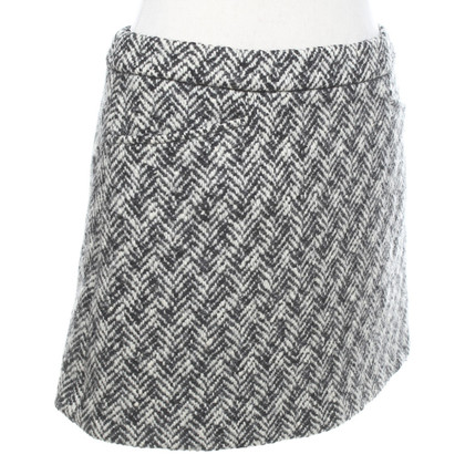 Miu Miu skirt in black and white