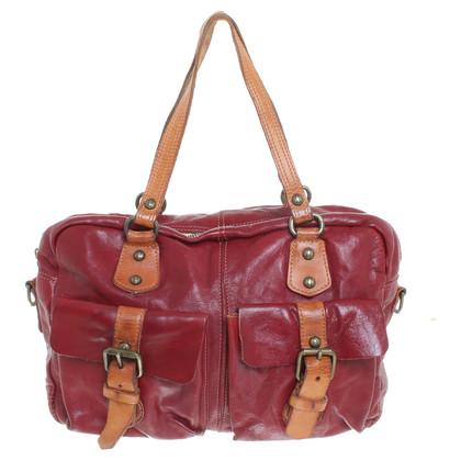 Campomaggi Messenger bag in red