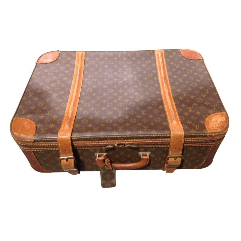 louis vuitton vintage monogram koffer second hand louis vuitton vintage monogram koffer. Black Bedroom Furniture Sets. Home Design Ideas