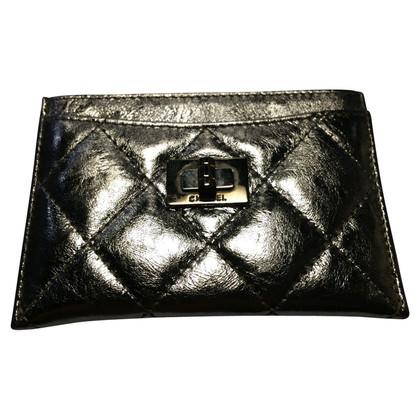 Chanel cassa di carta color argento