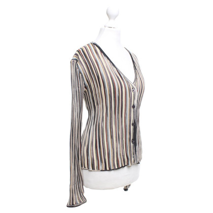 Missoni Cardigan with striped pattern