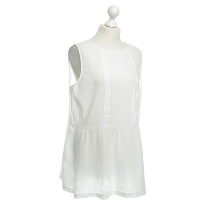 Stefanel Cotton top white