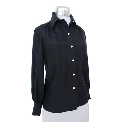 Pierre Balmain Silk blouse in black