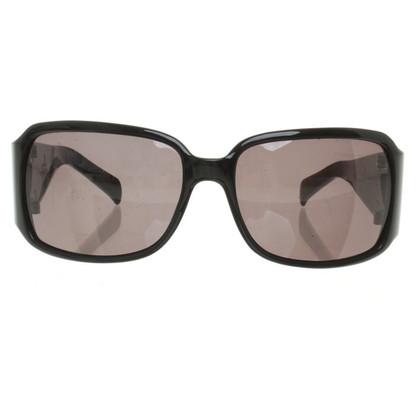 Mugler Zonnebril in zwart
