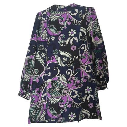 Tibi Silk dress with pattern