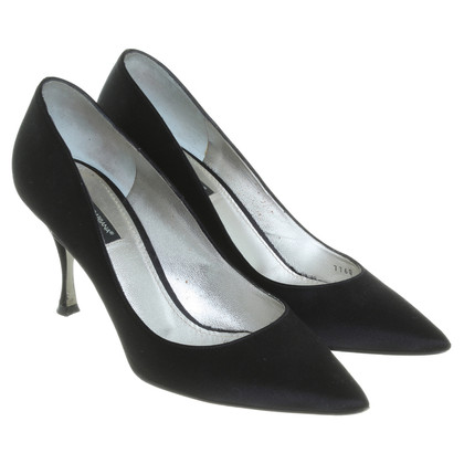 D&G pumps raso nero