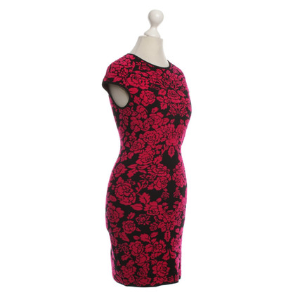 Alexander McQueen Short dress with a floral pattern
