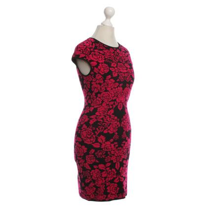 Alexander McQueen Kurzes Kleid mit floralem Muster