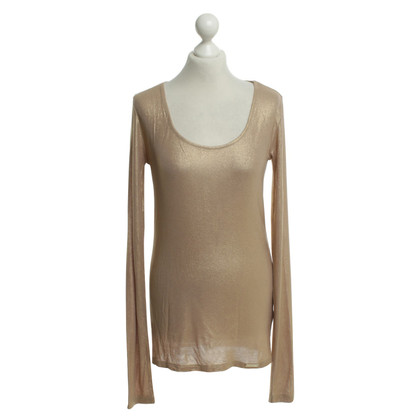 Patrizia Pepe Shirt in Goldfarben