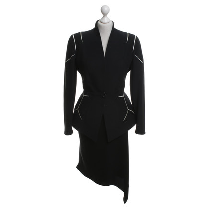 Mugler Costume with asymmetric skirt