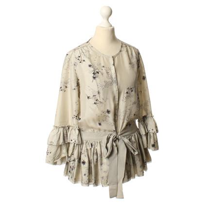 Twenty8Twelve Silk blouse in grey