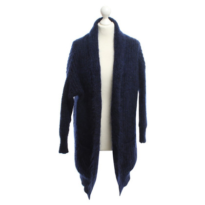 Maje Long sweater in blue