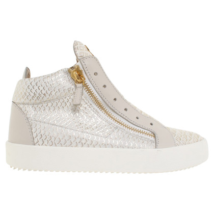 Giuseppe Zanotti Sneakers with reptile embossing