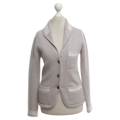 Chanel Cashmere jacket in bicolor