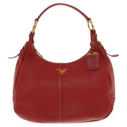Prada Handtas in Red