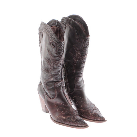 Andere Marke Pimabase Cowboy Boots Braun