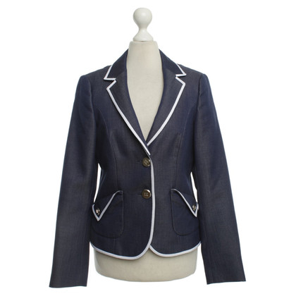 Escada Blazer in denim blik