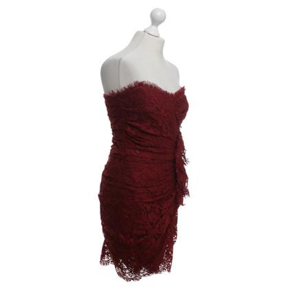 Dolce & Gabbana Dress in Bordeaux red