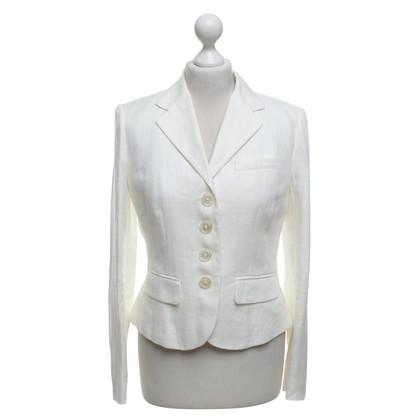 Ralph Lauren giacca di lino in crema