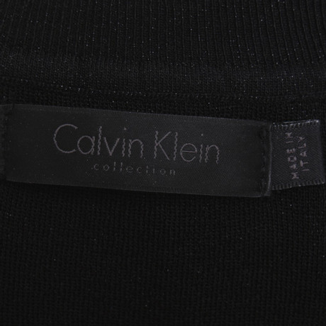 Calvin Schwarzer Pullover Klein Rollkragen Schwarz Klein Calvin 7qv47r
