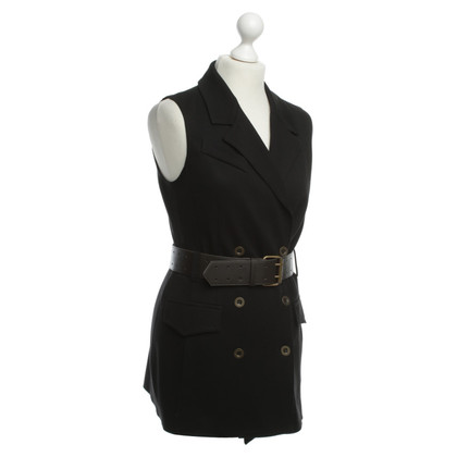 Other Designer Bailey - vest with lapel collar