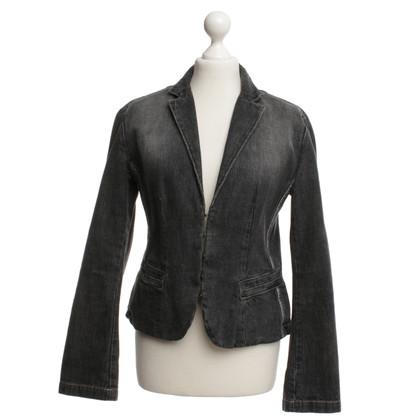 Strenesse Blue Jeansblazer in Gray
