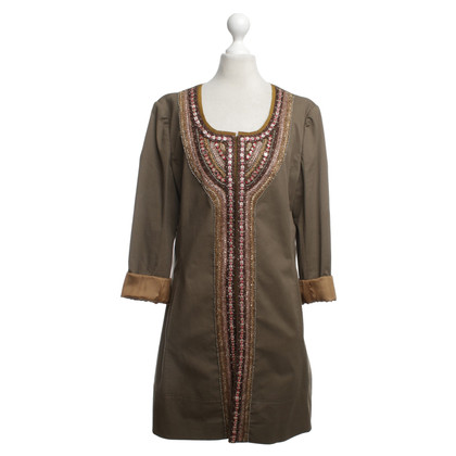 Philosophy di Alberta Ferretti Coat with embroidery