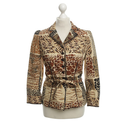 Moschino Cheap and Chic Blazer mit Animalprint