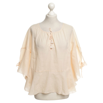 See by Chloé Wide blouse in nude